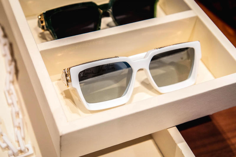 louis vuitton virgil abloh ss19 spring summer 2019 menswear accessories white sunglasses