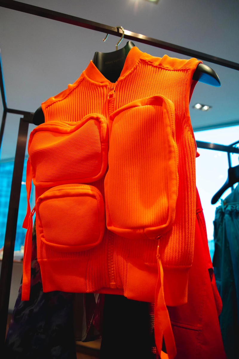 louis vuitton virgil abloh ss19 spring summer 2019 menswear orange neon vest