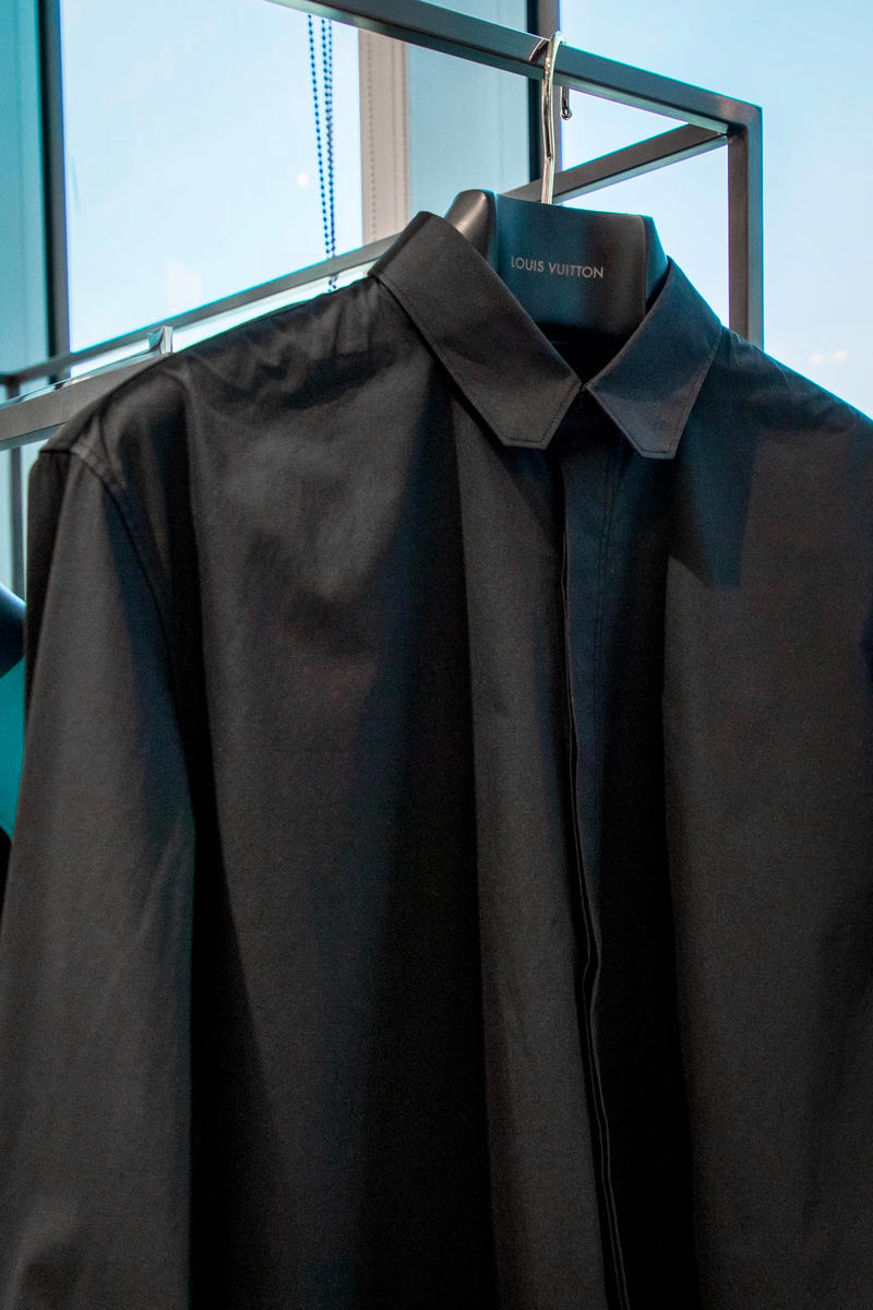 louis vuitton virgil abloh ss19 spring summer 2019 menswear black shirt