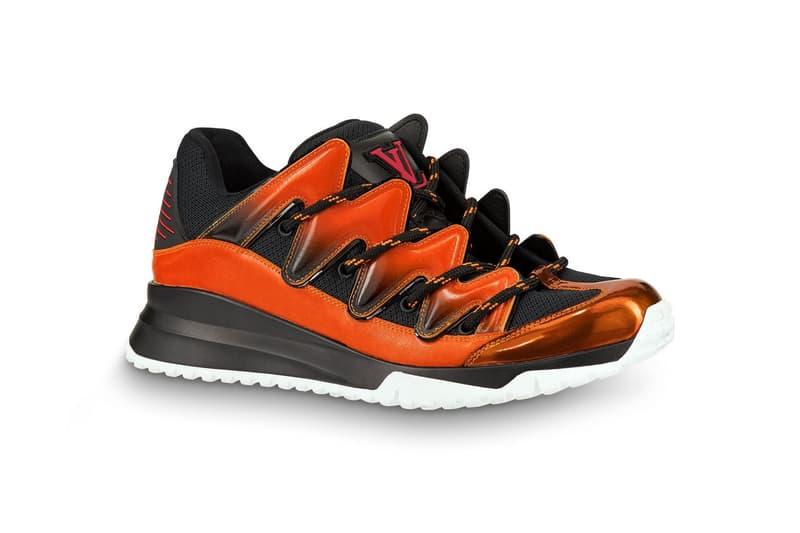 Louis Vuitton Zig Zag Sneaker White Orange Blue