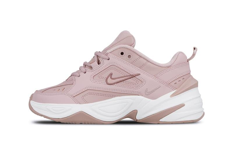 Nike M2K Tekno Chunky Sneaker Plum Chalk Dusky Pink
