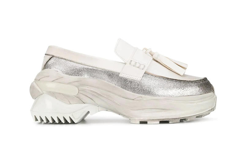 Maison Margiela Chunky Sole Loafer Release White Shoe Sneaker