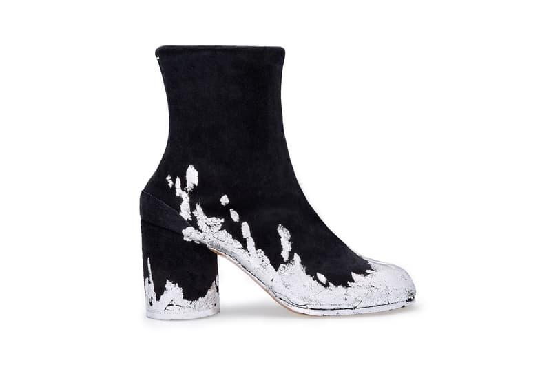 Maison Margiela x Dover Street Market Tabi Ankle Boot Black Silver