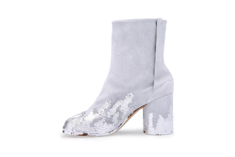 Maison Margiela x Dover Street Market Tabi Ankle Boot Grey Silver