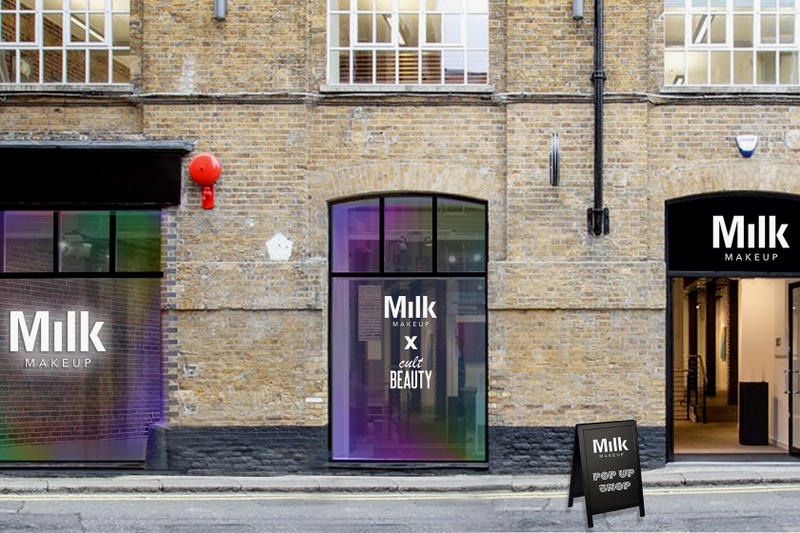 Milk Makeup Cult Beauty UK Pop-Up Shop London Covent Garden