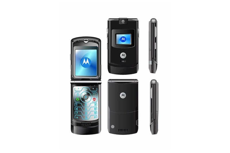 Motorola RAZR Flip Phone Black