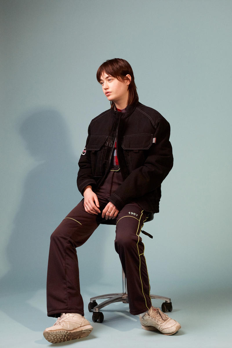 Napa by Martine Rose Fall/Winter 2019 Collection Lookbook Jackets Fur Fleece Outerwear Range Collaboration