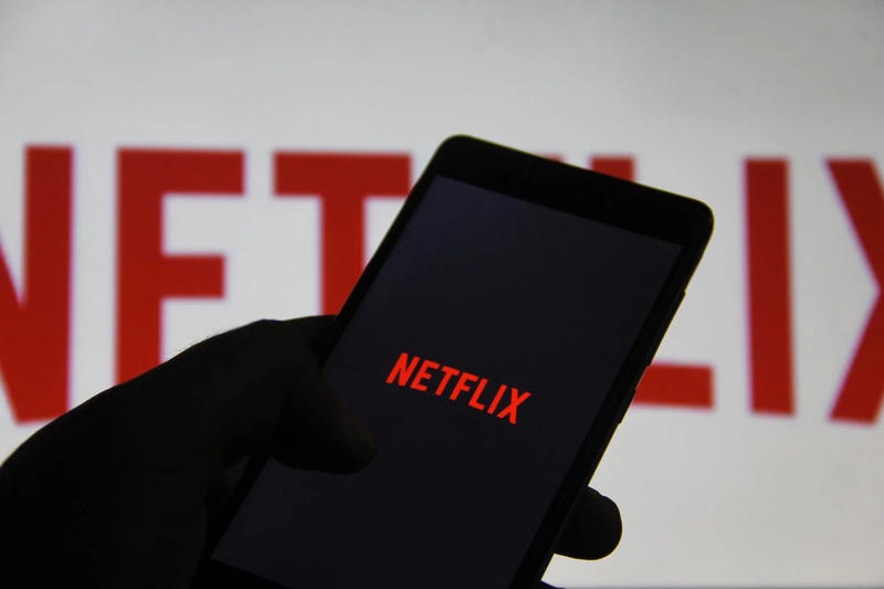 Netflix Logo iPhone Black