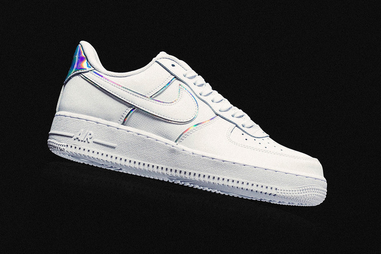 36aac3e094d Nike s Latest Air Force 1 Shines with Iridescent Details