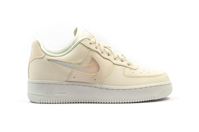 Arriving with a glittery Swoosh. Nike Air Force 1 ... 192e28f74dbb