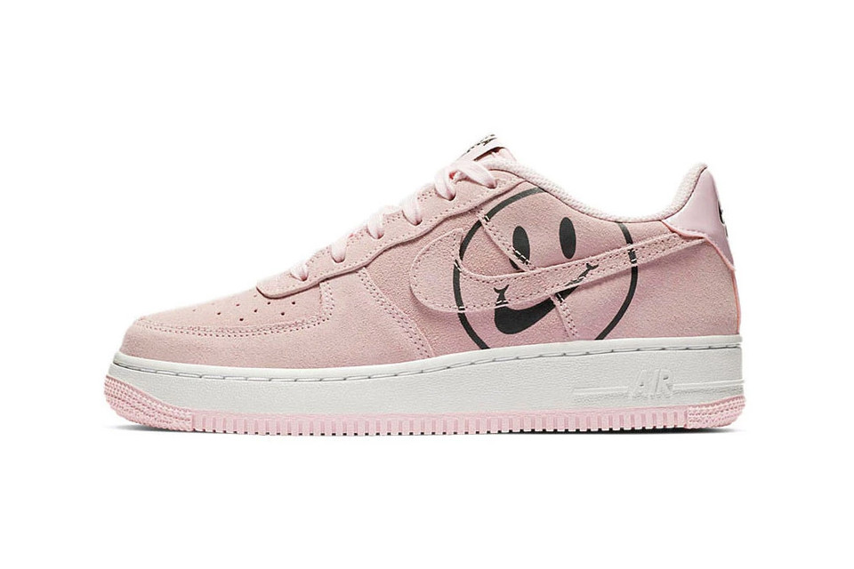 7e1d8d83f5 Peep the Smiley Face on Nike's Air Force 1