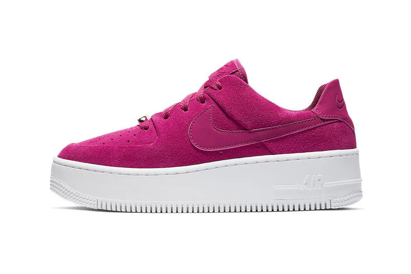 84a8e59b42320 Nike Drops Air Force 1 Sage Low