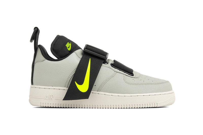 8f5a16d273f0 Nike Air Force 1 Utility Spruce Fog Volt Light Bone