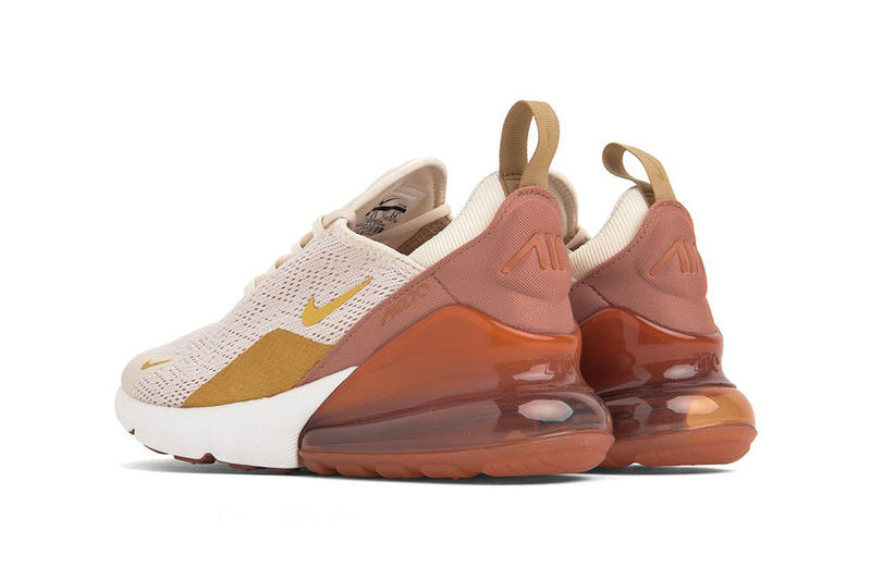 the latest 55b38 efb69 Nike Releases Air Max 270 in Light Cream Gold | HYPEBAE