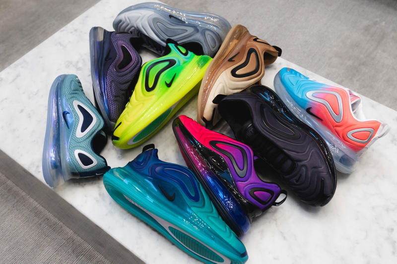 finest selection 49d76 e84a4 Here s a Closer Look at Nike s 2019 Air Max 720 Colorways