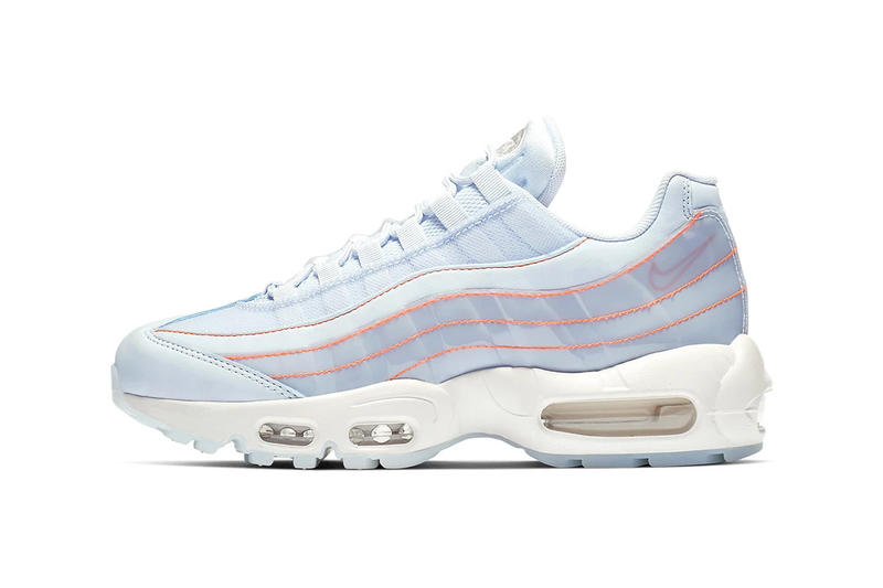 Nike Air Max 95 Half Blue Summit White Translucent
