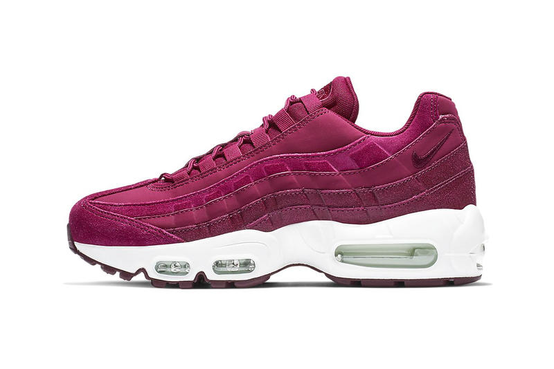 wholesale dealer d062d e39e5 Nike Air Max 95 True Berry Summit White Deep Pink Sneakers Trainers