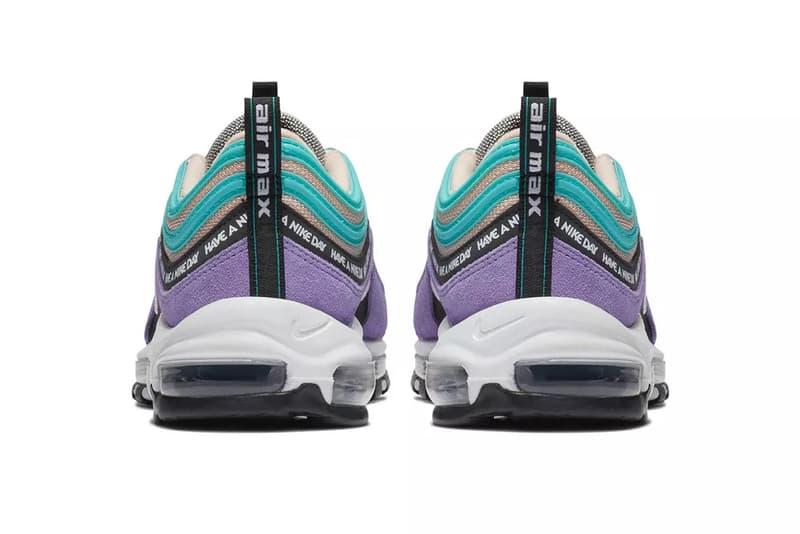 Nike Air Max 97 Teal Purple White