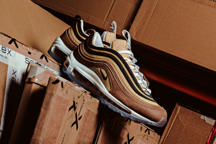 new arrival d6be1 dc876 The New Nike Air Max 97 Design Is Inspired by Shipping Boxes