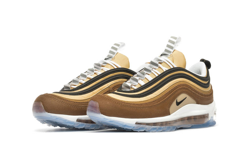 Nike Air Max 97 Shipping Box Ale Brown Black Elemental Gold