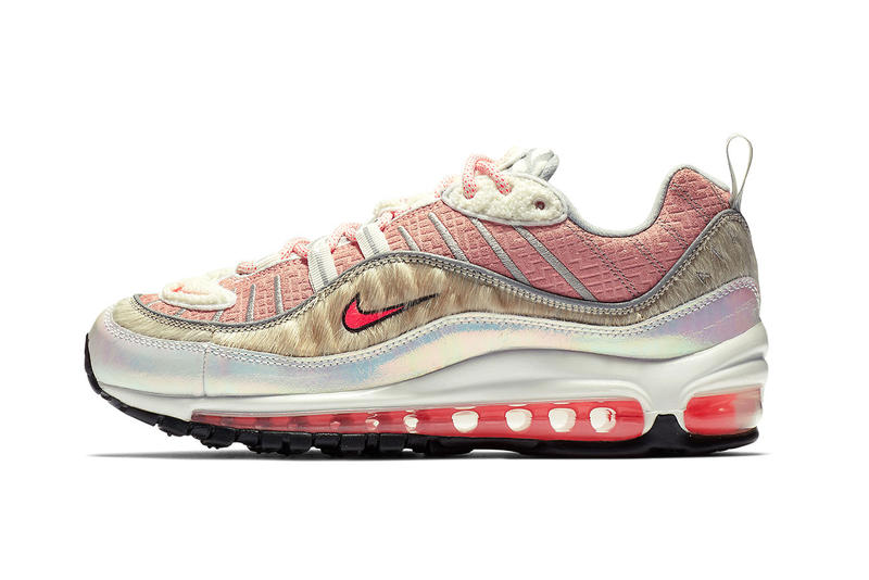 best service 41100 f9c80 Nike Air Max 98 What the Chinese New Year Bleached Coral Bright Crimson