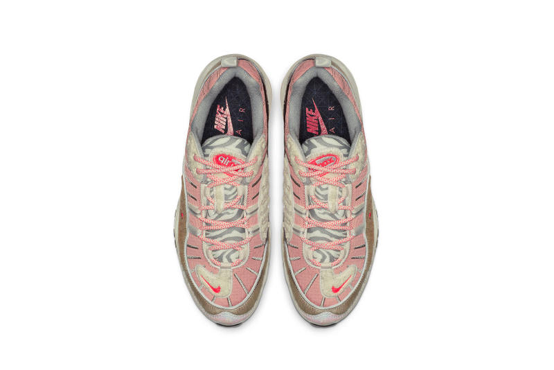 Nike Air Max 98 What the Chinese New Year Bleached Coral Bright Crimson