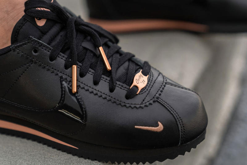 Nike Classic Cortez Black Rose Gold