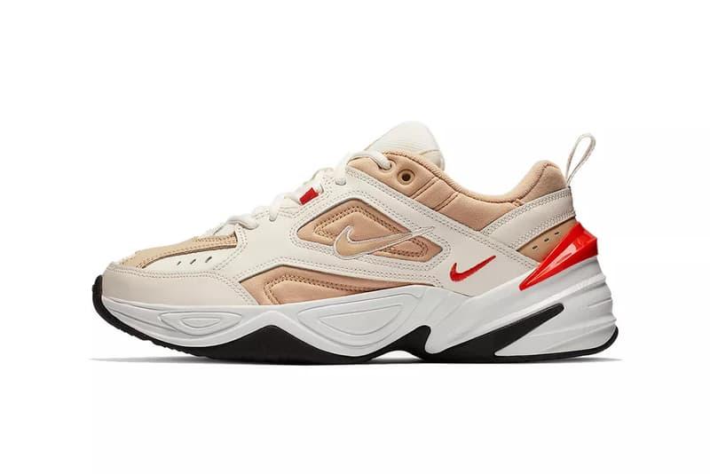 new product 08faa 557dc Nike M2K Tekno Sail Habanero Red