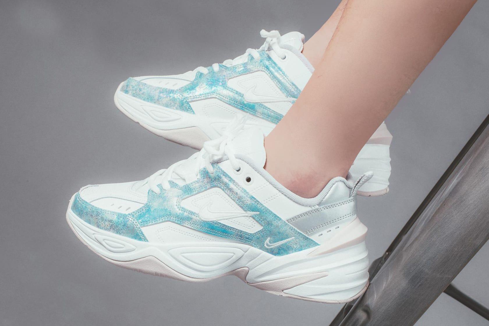 Nike M2K Tekno White / Metallic Blue
