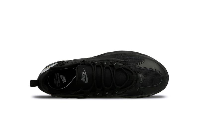 "Nike Zoom 2K in ""All Black"" Release Date Where to Buy Sneaker Shoe Retro Futuristic Modern Silhouette"
