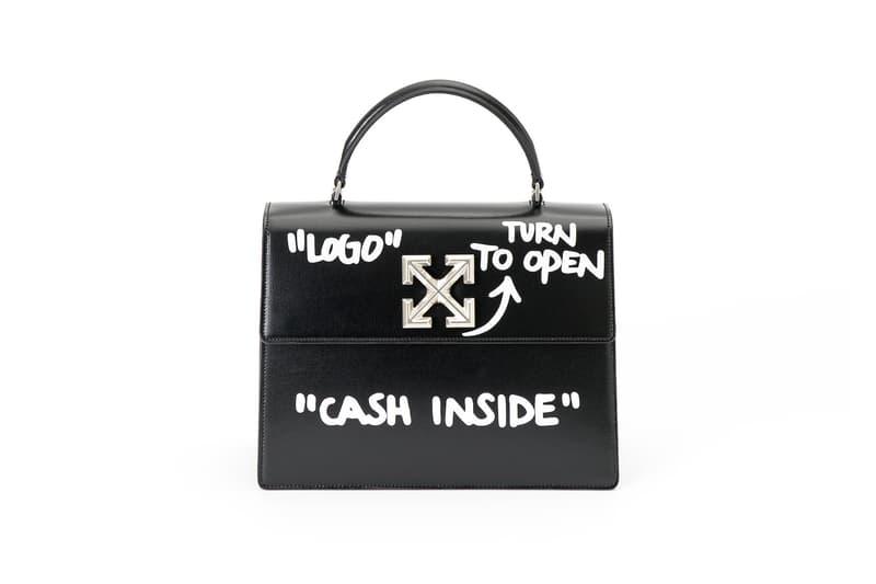 "Off-White ""FLOWER SHOP"" Pop-Up Bag Collection Virgil Abloh Purse Bag Luxury"