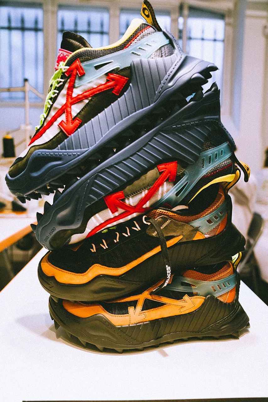 Off-White Launches ODSY 1000 Sneaker at