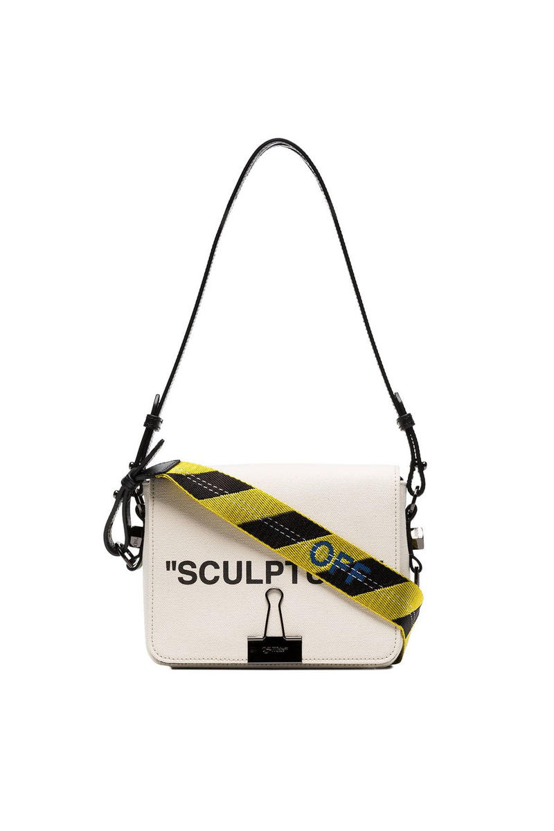 Off White SCULPTURE Bag Cream