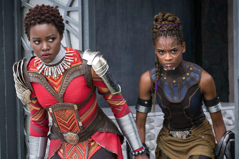 Black Panther Lupita N'yongo Letitia Wright