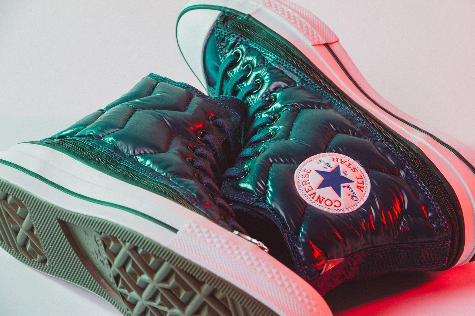 P.A.M. x Converse Chuck 70 Zip Off Hi