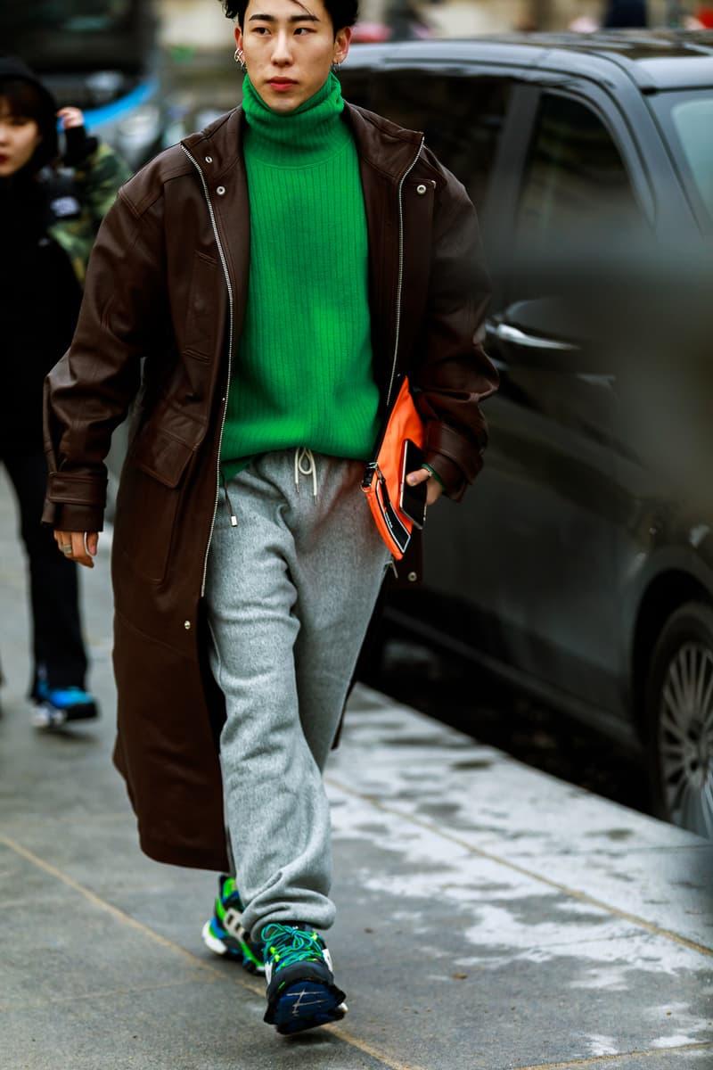 247a695f8f4 Paris Fashion Week Men s FW19 Streetstyle Snaps Off-White Chanel Heron  Preston Jerry Lorenzo Maisie