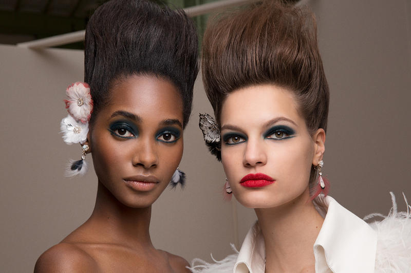 Chanel Paris Haute Couture Week Beauty Hair Makeup Models Backstage SS19 Spring Summer 2019 Karl Lagerfeld