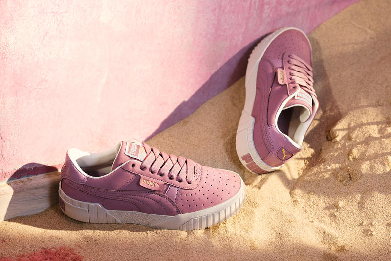 Selena Gomez PUMA Cali Elderberry Pastel Dusky Lilac Sneakers Trainers