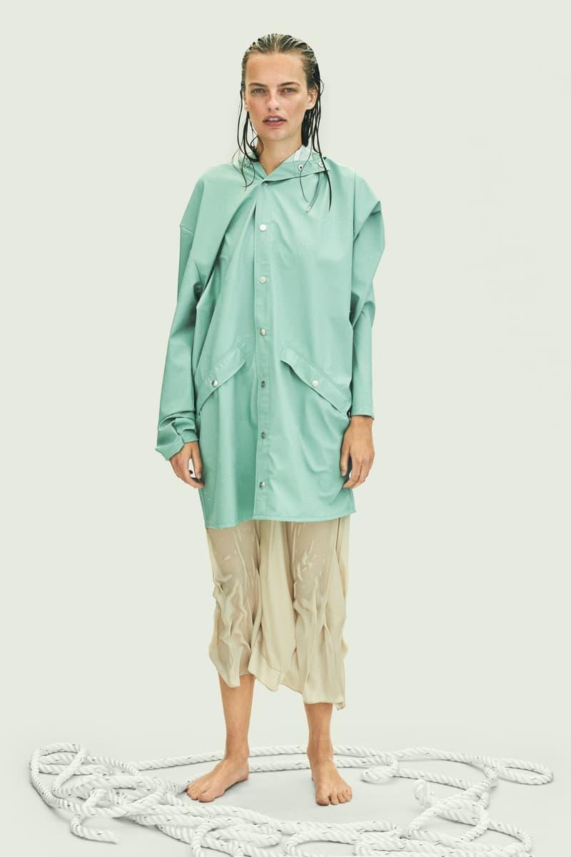 Rains Spring Summer 2019 Campaign Raincoat Blue