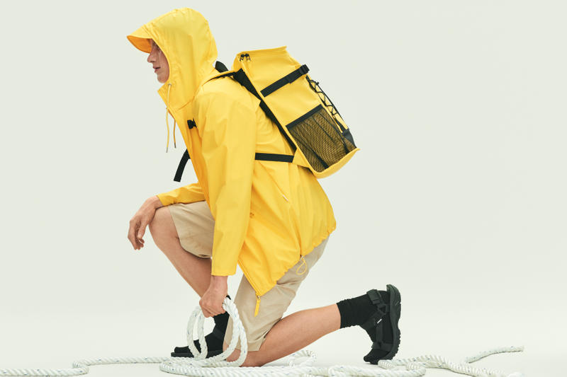 Rains Spring Summer 2019 Campaign Raincoat Yellow