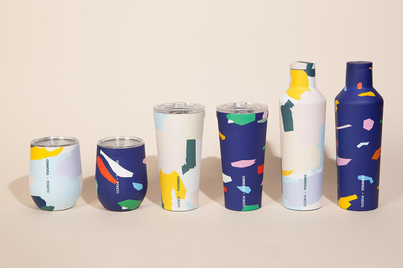 Corkcicle Poketo Collaboration 2019 bottles cups tumblers reusable