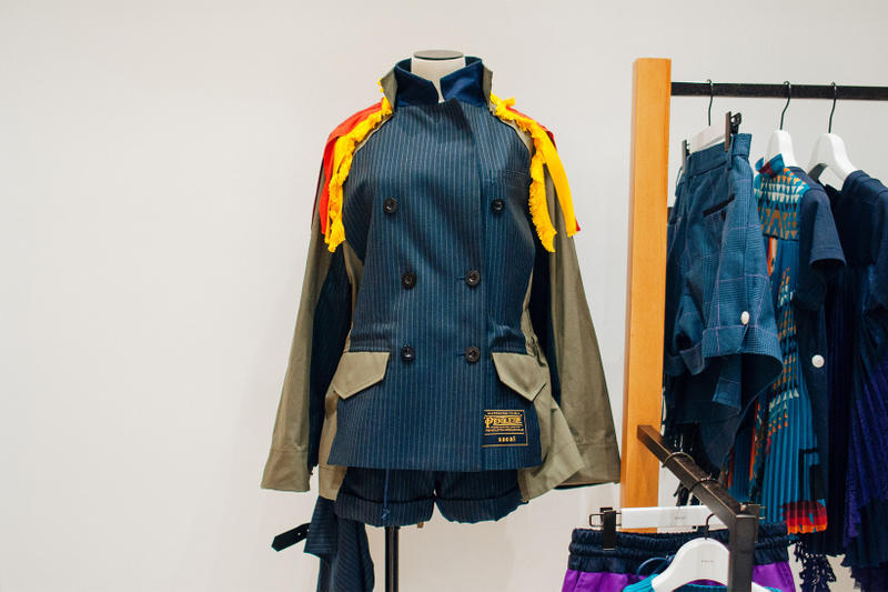 sacai chitose abe dr woo pendleton closer look winter