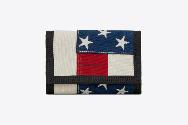 Saint Laurent American Flag Bag Stars Stripes