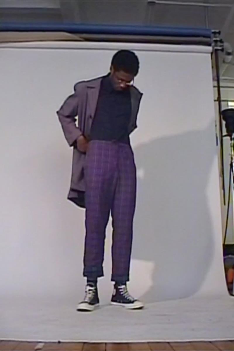 Opening Ceremony Skidz Capsule Collection Jacket Plaid Pants Purple