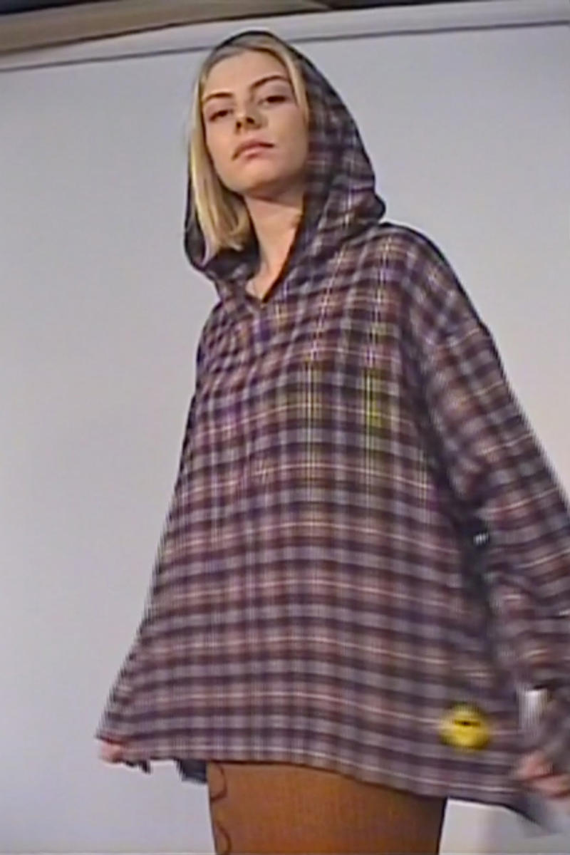 Opening Ceremony Skidz Capsule Collection Plaid Hoodie Navy Red