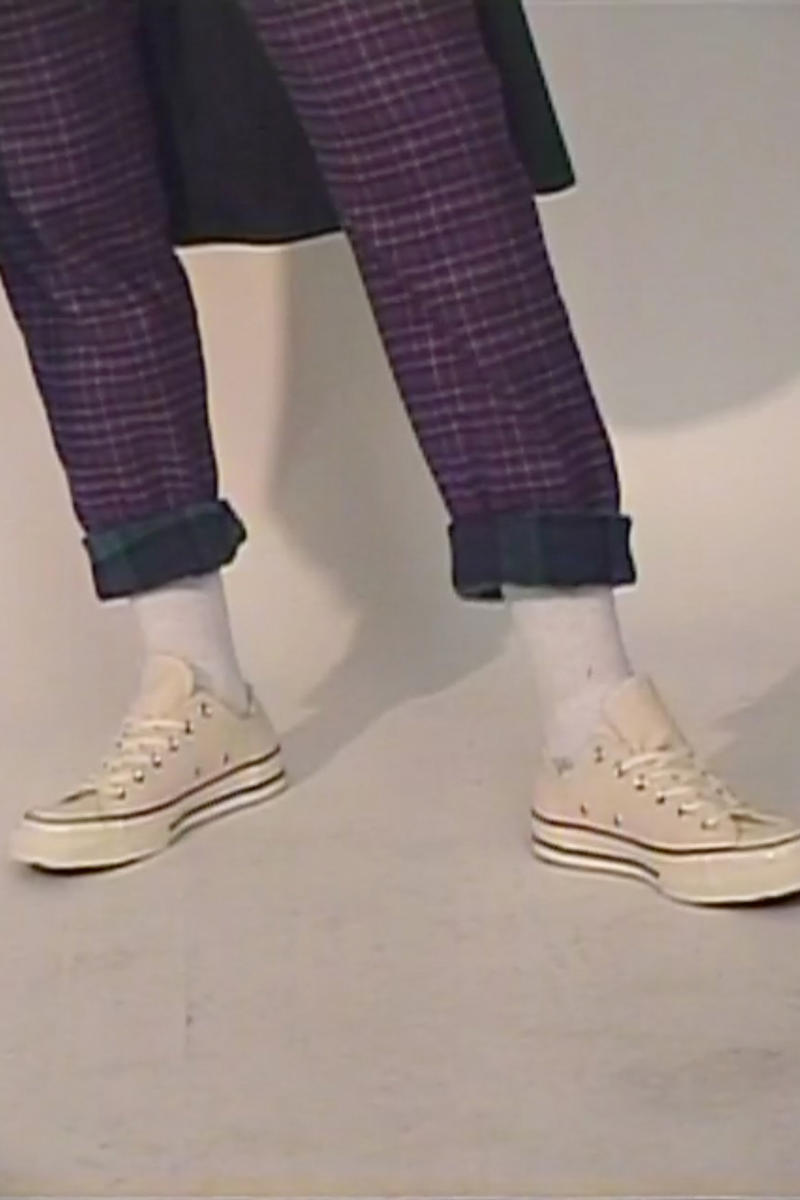 Opening Ceremony Skidz Capsule Collection Plaid Pants Purple