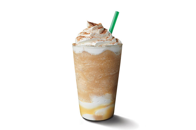 Starbuck' New Cinnamon Shortbread Latte Coffee