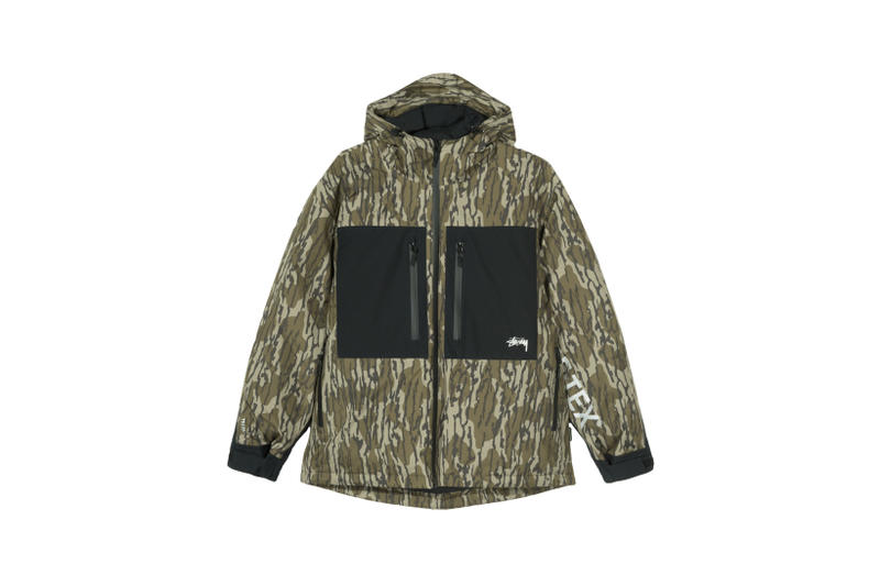 Stussy x GORE-TEX Down Parka Camouflage