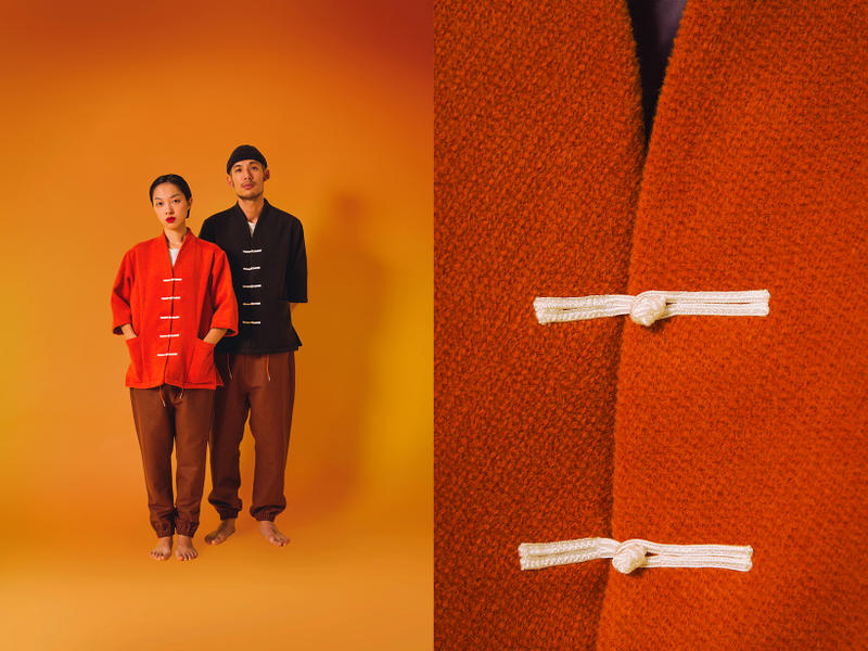 the private label collection 3 lookbook hong kong asian traditional garments mandarin buttons east meets west