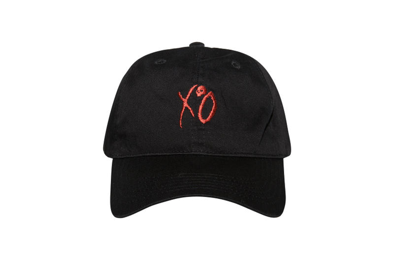 The Weeknd Asia Tour Merch Collection XO Cap Black